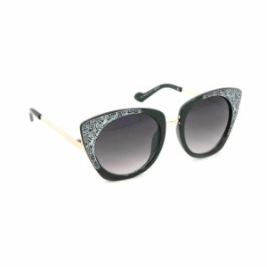 Óculos Feminino Preto Desenhos