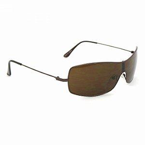 Óculos de Sol Claro Marrom