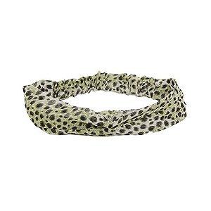 Headband Estampa Oncinha Verde
