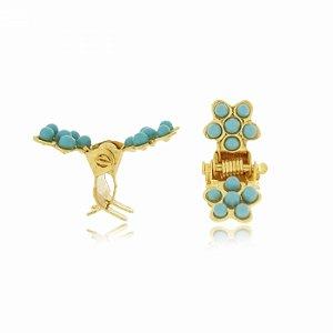 Mini Piranha Dourada e Azul