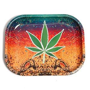 Bandeja de Metal Marijuana