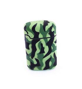 Isqueiro Maçarico ZengaZ Camuflado Verde