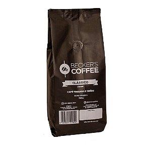 Café Clássico Beckers Coffe Torrado e Moído 500g