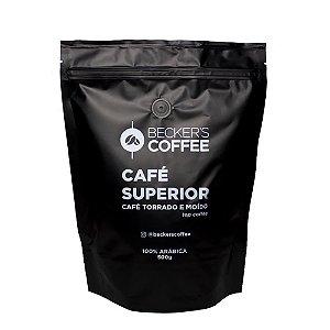 Café Superior Beckers Coffe Torrado e Moído 500g