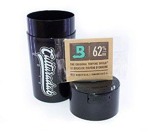 Pack Boveda 62% 8g + Pote Vacoo 600ml