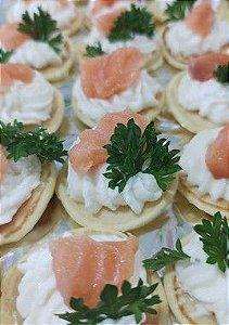 Blínis de salmão