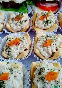 Casquinha de atum com cenoura