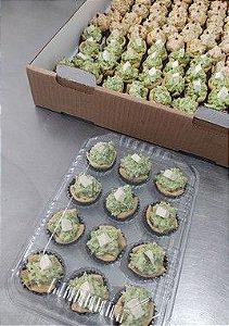 Casquinha de brócolis com ricota