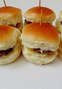 Mini - Hambúrguer Simples de Catupiry