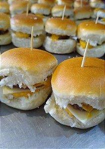 Mini - Hambúrguer Simples de Cheddar