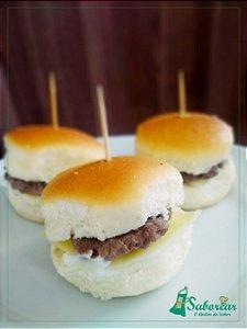 DELIVERY - Mini - Hambúrguer Simples de catupiry