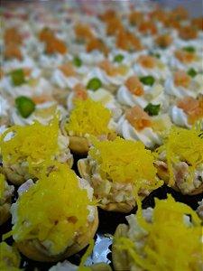DELIVERY - Casquinha de picles e fios de ovos