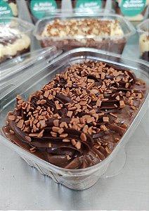 Brownie Maravilha de brigadeiro e ganache