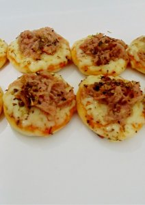 Mini Pizza de Atum