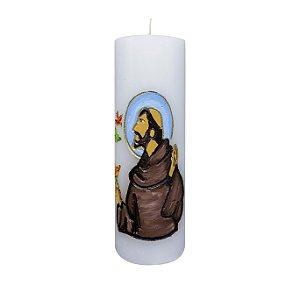 Vela Esculpida São Francisco de Assis