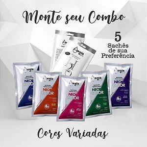 MONTE O SEU COMBO - 5 SACHÊS - CONFIRMAREMOS OS SACHÊS ANTES DO ENVIO