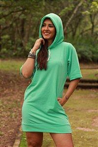 Vestido Moletinho c/ Capuz