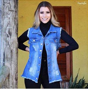 Colete Jeans Seychelles