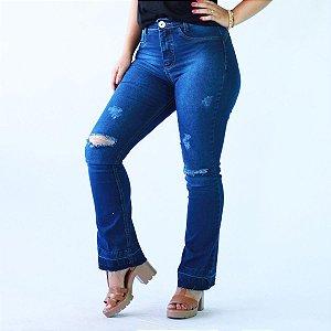 Calça Jeans Boot Rasgada