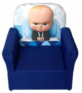 Mini Sofa Infantil Poderoso Chefinho