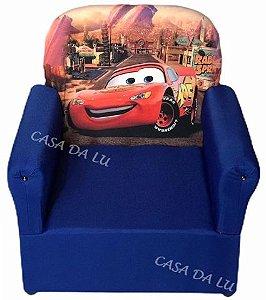 Mini Sofa Infantil Mcqueen