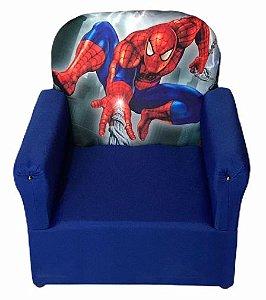 Mini Sofa Infantil Homem Aranha