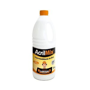 Impermeabilizante Acrílico AcrilMix Garrafa de 1 Litro - Rejuntamix