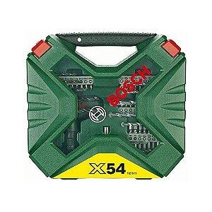 Kit de Pontas e Brocas X-Line para parafusar e perfurar com 54 unidades - Bosch