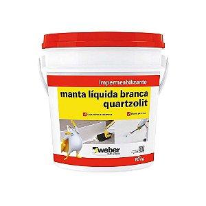 Manta Liquida 18KG Branco - Quartzolit