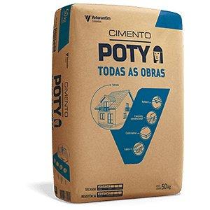 Cimento Todas as Obras 50kg - Poty