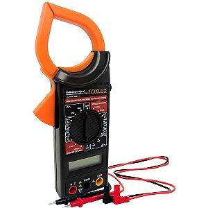 Multímetro Digital com Alicate Amperímetro - Foxlux