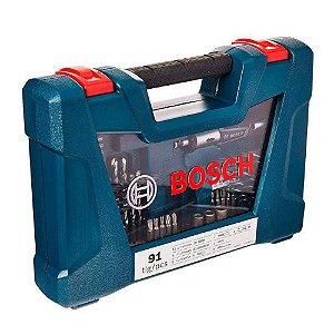Jogo de Bits e Brocas 91 peças V-Line - Bosch