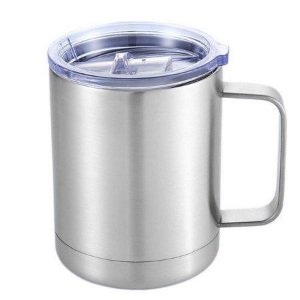 Caneca Térmica Mokha Mugy Silver 300ml