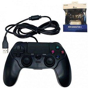 Controle Joystick para Ps4 Com Fio Feir - FR-225A