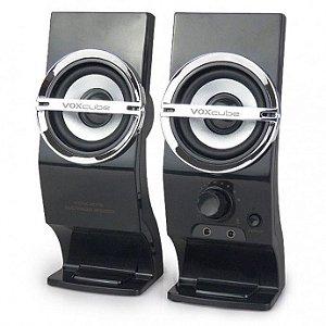Caixa de Som com Entrada Microfone Vox Cube Camac - Vc-878