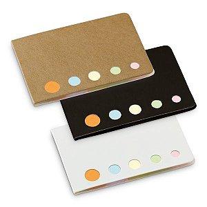 Bloco de anotações personalizado autocolante com 5 conjuntos coloridos 25 folhas cada lote 200 peças