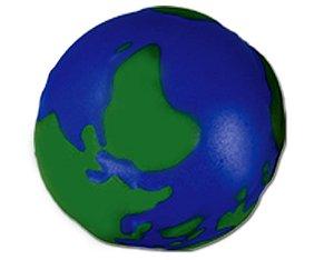 Bolinha anti stress mapa mundi alto relevo
