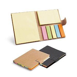 Bloco de anotações cartão craft personalizado 7 blocos autocolantes coloridos