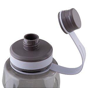 Squeeze Garrafa plástica 1500 ml, com alça de mão