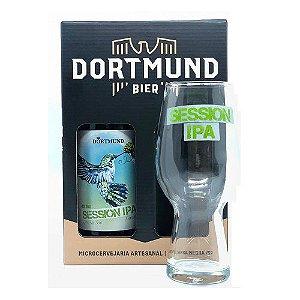 Kit Cerveja Dortmund 473ml Session Ipa Com Copo
