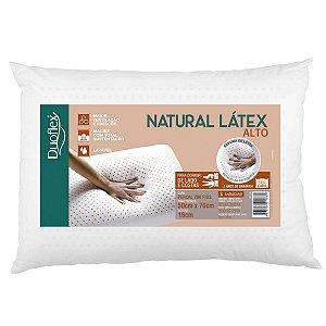 Travesseiro Látex Natural Alto 50x70x16cm Duoflex