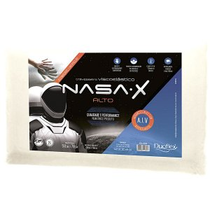 Travesseiro Nasa-X Alto 50X70X13 - Duoflex