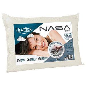 Travesseiro Nasa Alto 17cm Altura Viscoelastico Duoflex