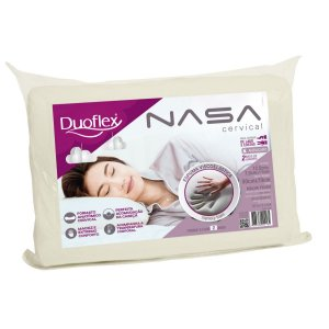 Travesseiro Ortopédico Nasa Cervical 50x70x12,5 - Duoflex