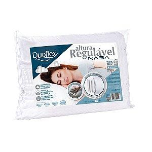 Travesseiro Nasa Viscorlastico Altura Regulável 50x70 - Duoflex