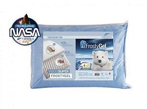 Travesseiro Alto Frostygel Viscoelástico 50x70X16 Fibrasca