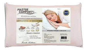 Travesseiro Altura Regulável Em Viscoelastico 50x70x14cm