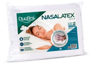 Travesseiro Alto Látex 50x70x16 - Duoflex
