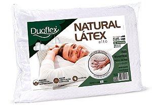 Travesseiro Alto Natural Látex 50x70x16cm Duoflex