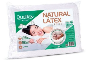 Travesseiro Látex Natural 45x65x13 Duoflex